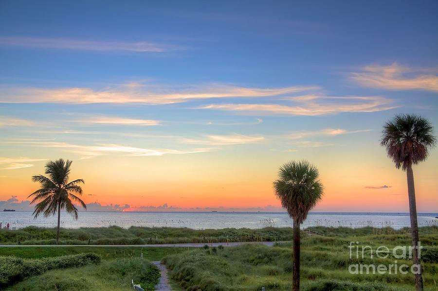 Miami Beach Photograph - Pastel Dawn by William Wetmore