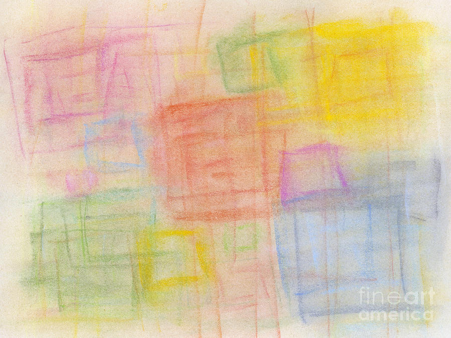 Abstract Pastel - Pastel Oct 2012 by Igor Kislev