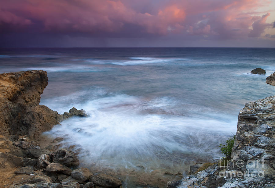 Kauai Photograph - Pastel Storm by Mike  Dawson