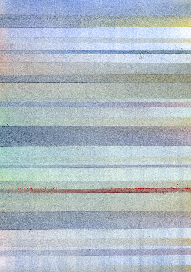Stripes Painting - Pastel Stripes by Hakon Soreide