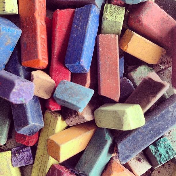 Pastels Photograph - Pastels by Nic Squirrell