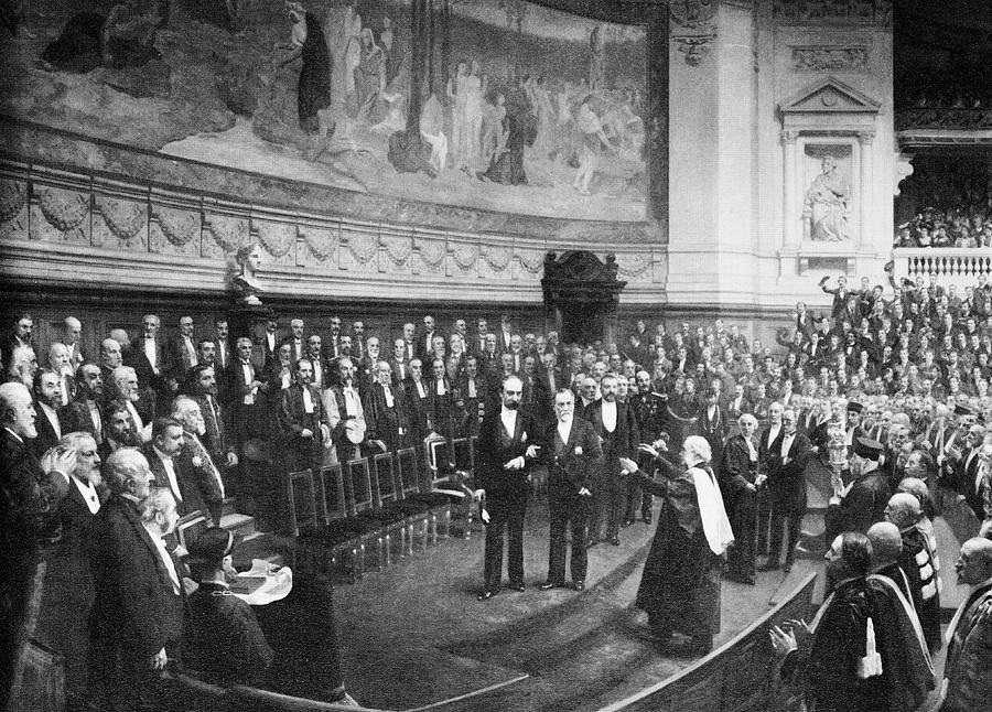 Joseph Lister Photograph - Pasteurs Jubilee Celebrations, 1892 by