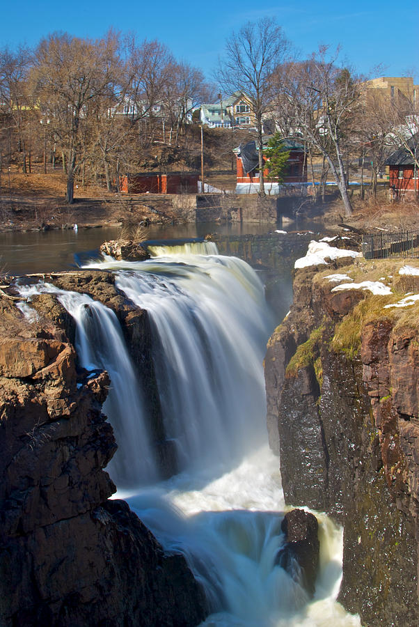 Paterson Photograph - Paterson Falls by Mike Horvath