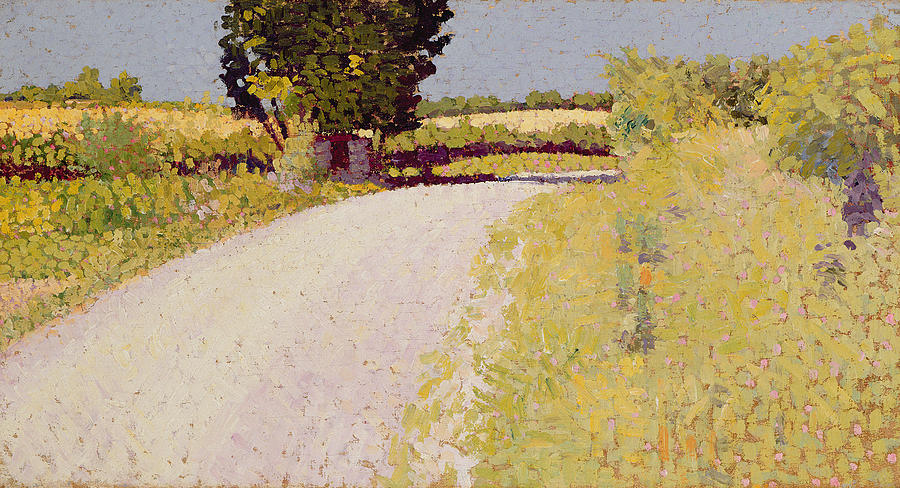 Lane Painting - Path In The Country by Charles Angrand