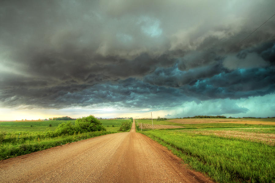 Storm Photograph - Path To Chaos by Evan Ludes