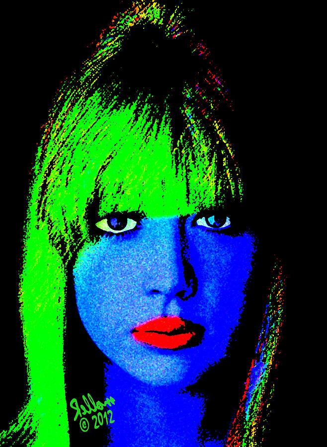 Patty Boyd Digital Art - Patty Boyd Pop by Che Rellom