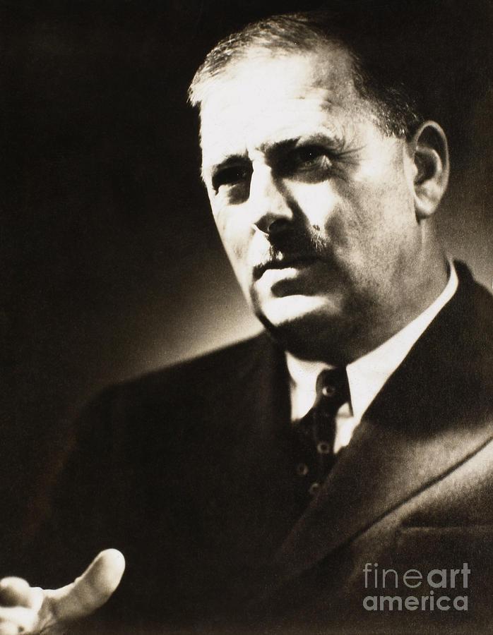 1938 Photograph - Paul De Kruif (1890-1971) by Granger