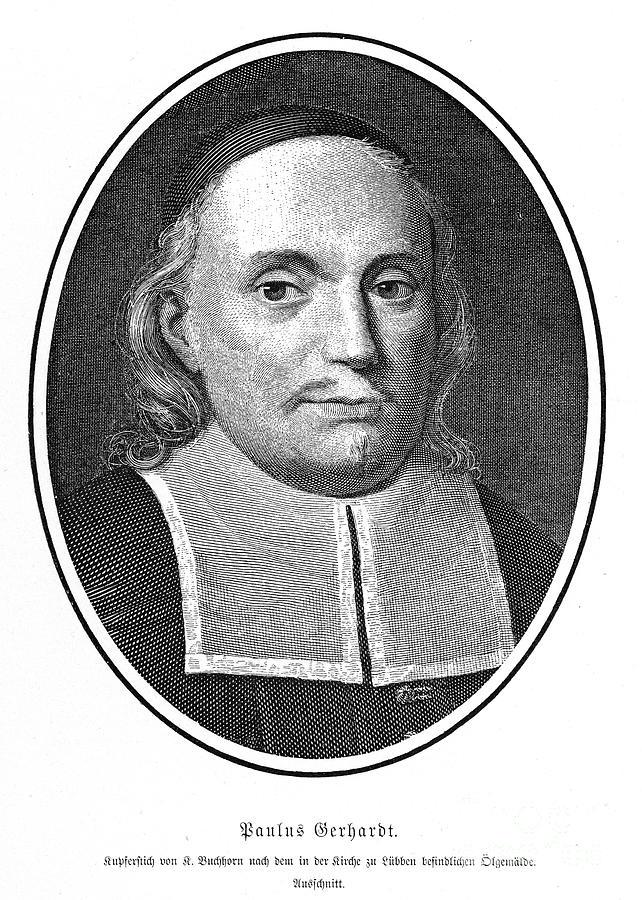 Paul Gerhardt portrait