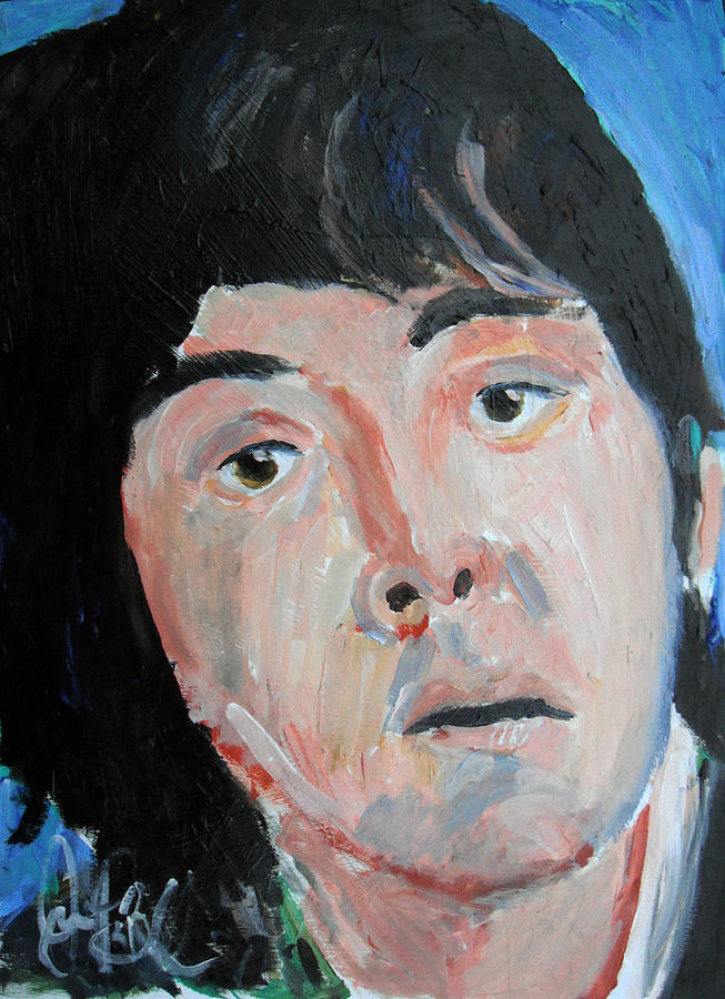 Mccartney Painting - Paul McCartney  by Jon Baldwin  Art