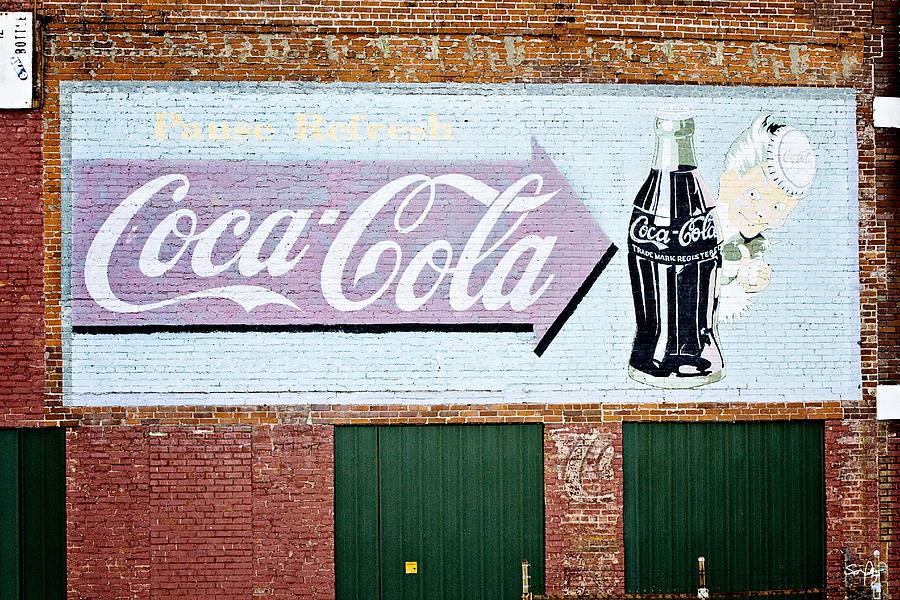 Coca Cola Photograph - Pause Refresh by Scott Pellegrin