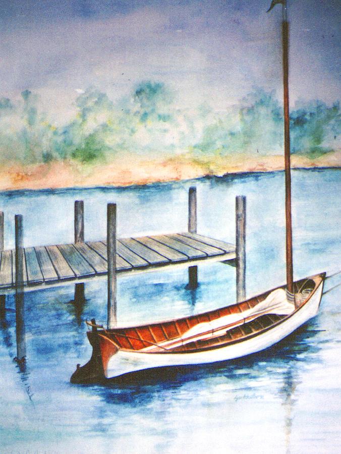 Pea Pod Boat by LYNN BUETTNER