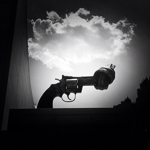 New York City Photograph - Peace - New York City by Vivienne Gucwa