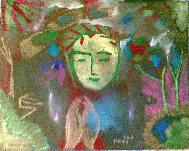 Painting Painting - Peace.. by Rooma Mehra