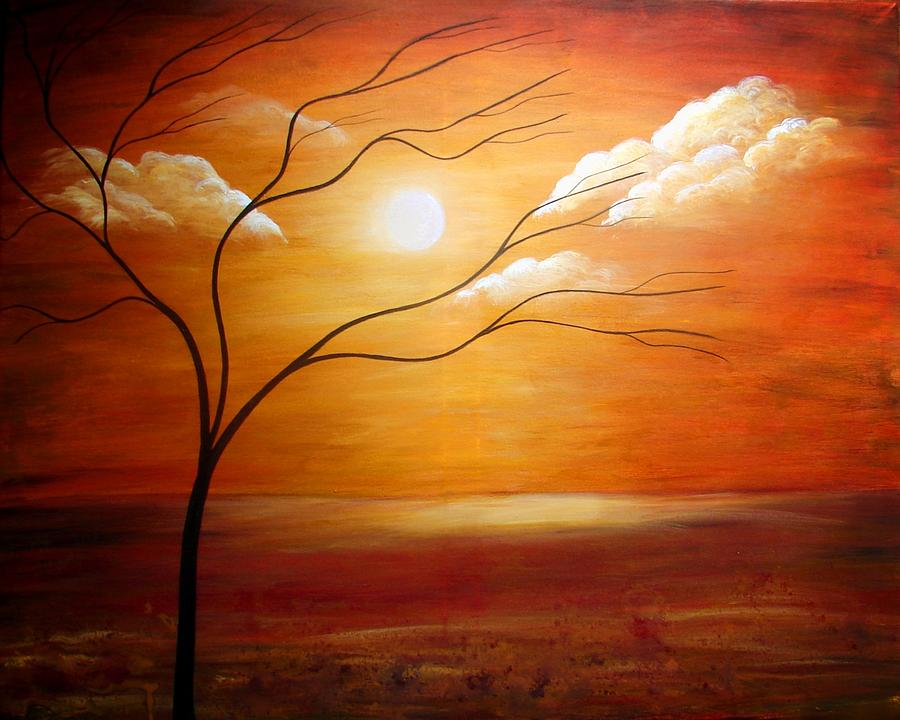 Peaceful Painting by Color Blast