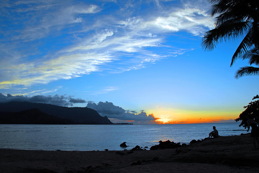 Sunsets Photograph - Peaceful Solitude by Lynn Bauer