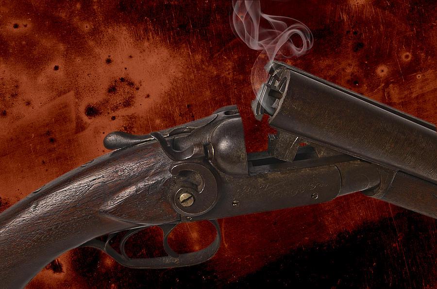 Shotgun Photograph - Peacemaker by Robert Hudnall