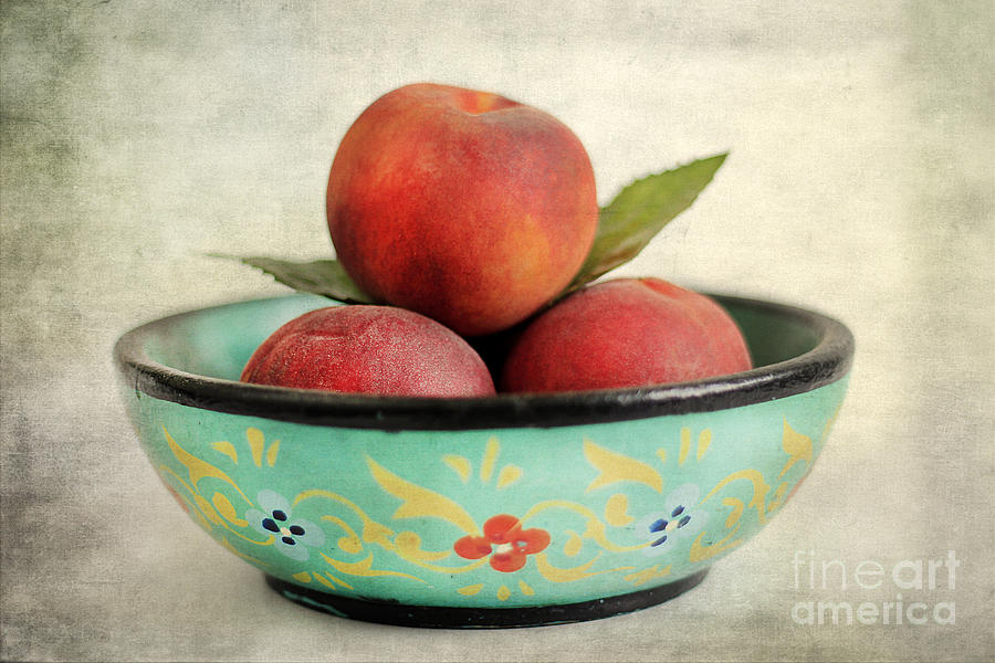 Agriculture Photograph - Peaches by Darren Fisher