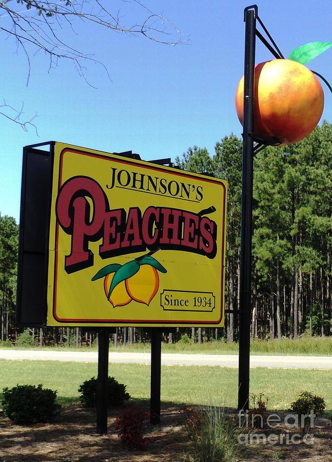 Peaches Photograph - Peaches by Jennifer Kelly