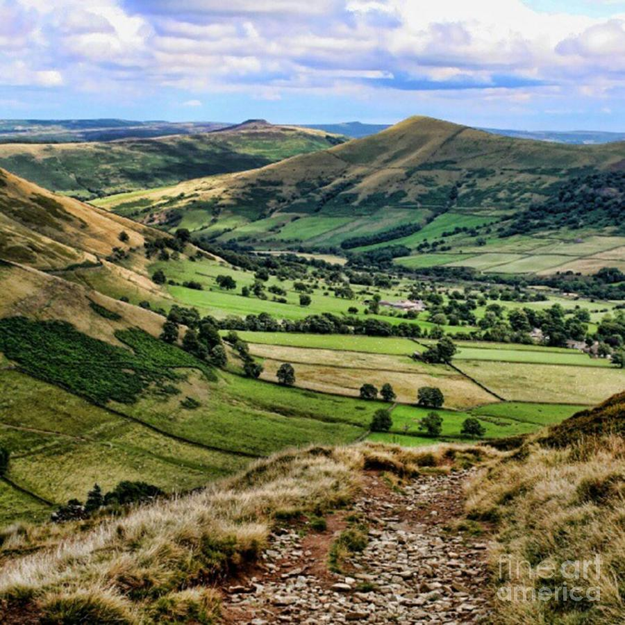 Country Photograph - Peak District by YoursByShores Isabella Shores