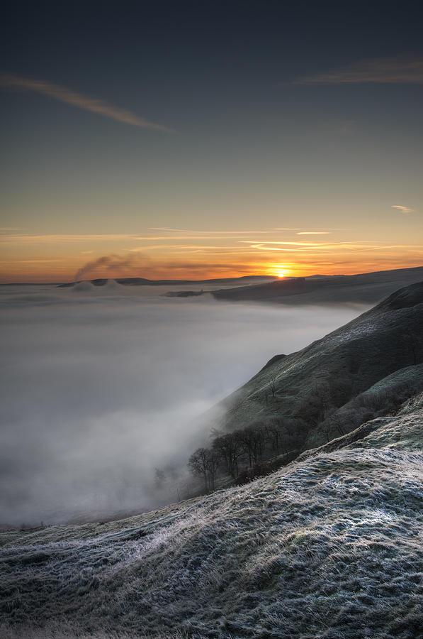 Castleton Photograph - Peak District Sunrise by Andy Astbury