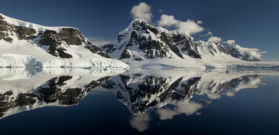 00479577 Photograph - Peaks Along  Neumayer Channel by Colin Monteath