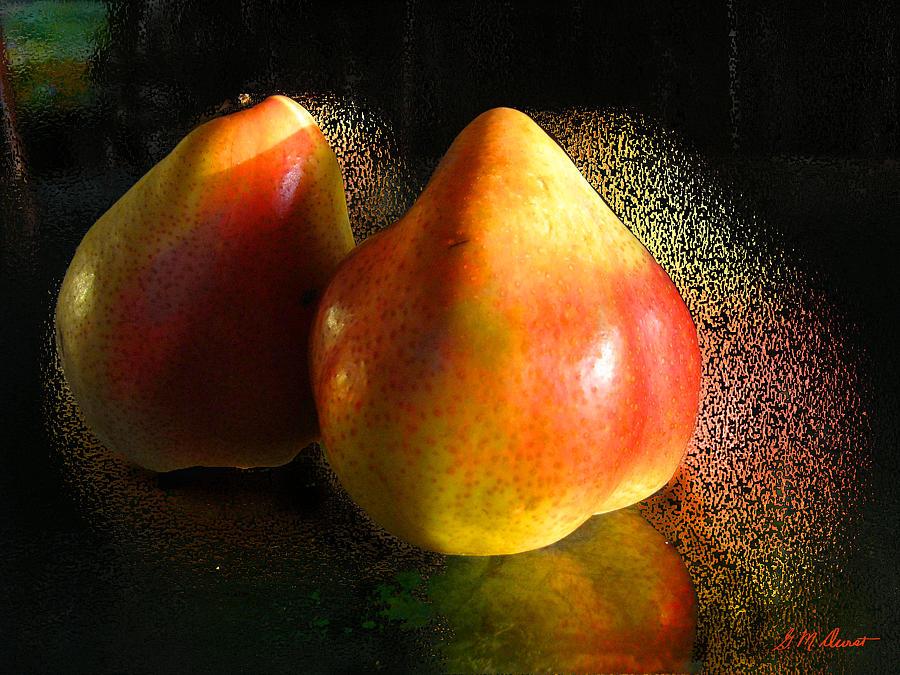 Pear Photograph - Pear Aura by Michael Durst