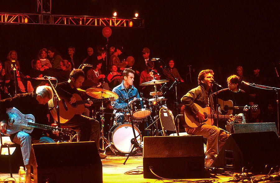 Pearl Jam Photograph - Pearl Jam Bridge Benefit by Stephen Miner