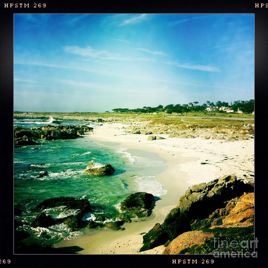 Pebble Beach Photograph - Pebble Beach by Nina Prommer