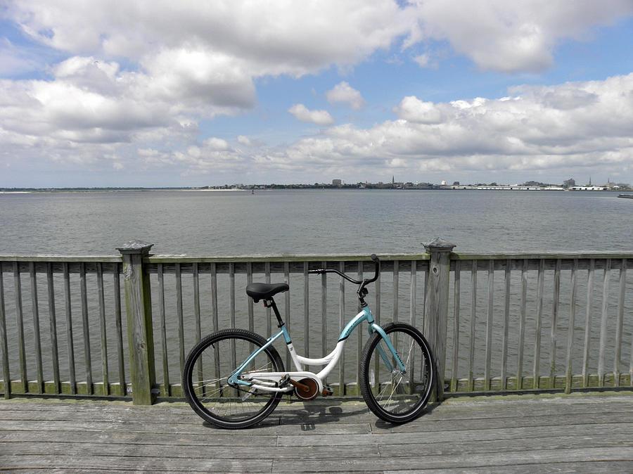 Bike Photograph - Pedal Pusher by Diane Barrett