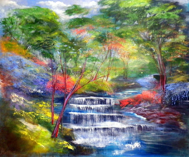 Painting Water Acrylic Tumblr