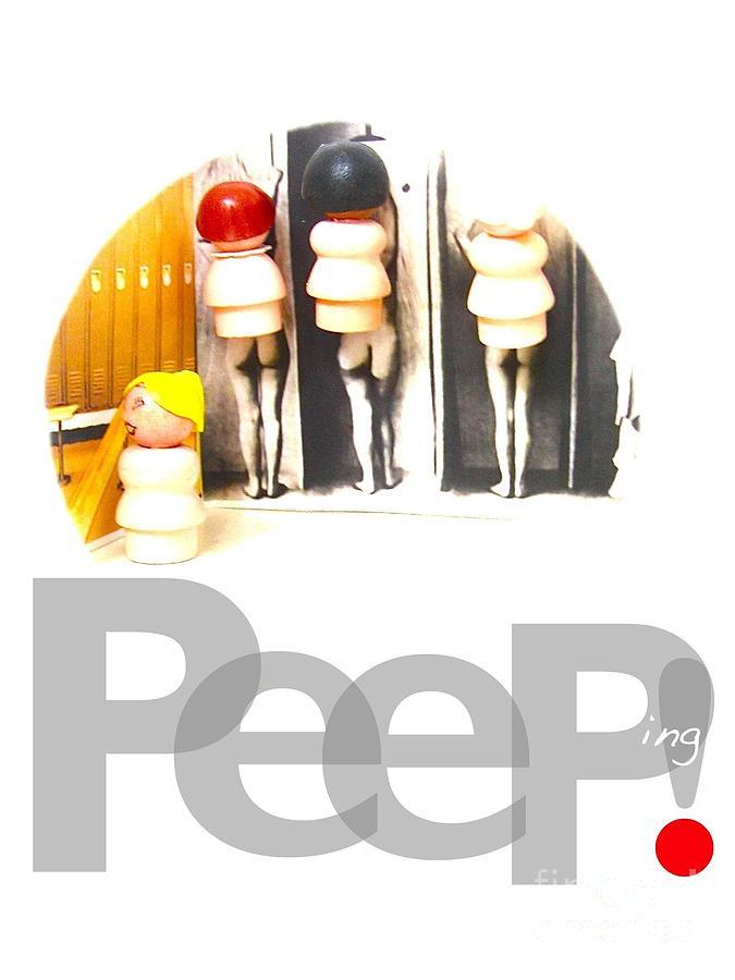Peeping Tom Photograph - Peeping by Ricky Sencion