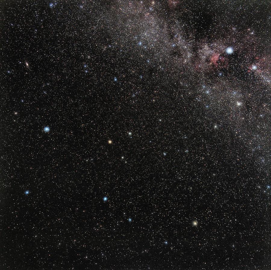 Pegasus Photograph - Pegasus Constellation by Eckhard Slawik