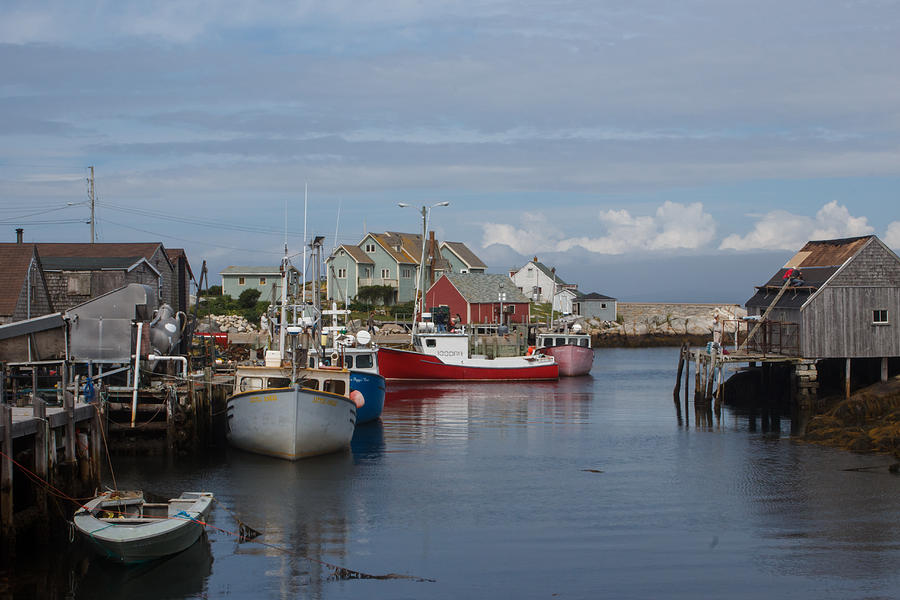 Peggy's Cove Photograph - Peggys Cove by Nick Sayles