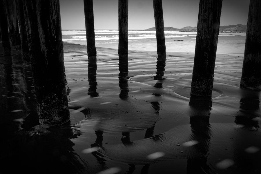 Pier Photograph - Peir Legs by Matt  Trimble
