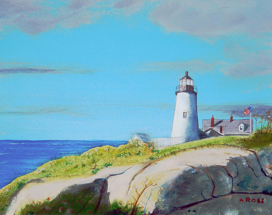 Pemaquid Point Light by Anthony Ross