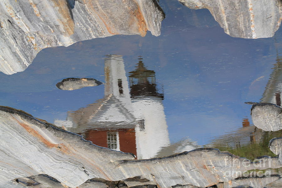 Pemaquid Point Light Photograph by John Doble