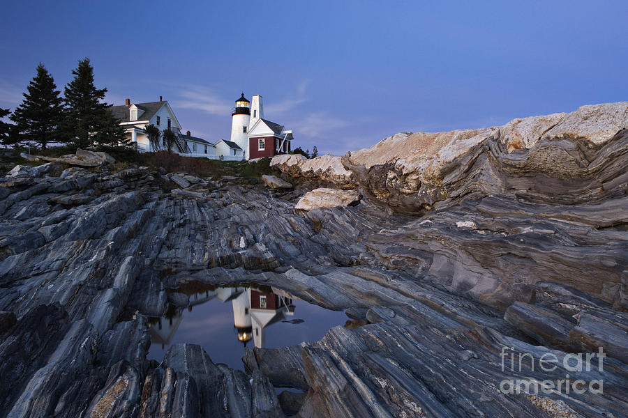 Pemaquid Photograph - Pemaquid Point Lighthouse - D002139 by Daniel Dempster