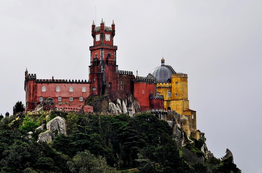 Monument Photograph - Pena Palace - Sintra by Armando Carlos Ferreira Palhau