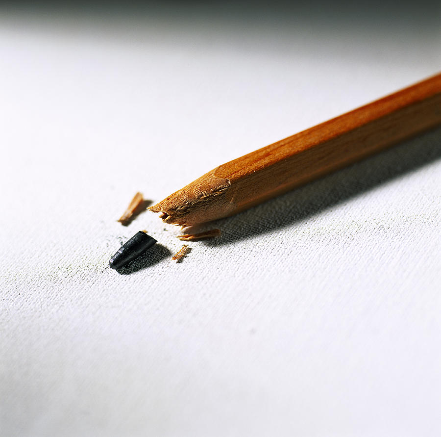 Pencil Photograph - Pencil by Kevin Curtis