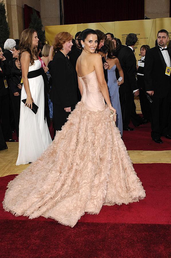 Oscars 79th Annual Academy Awards - Arrivals Photograph - Penelope Cruz Wearing Atelier Versace by Everett