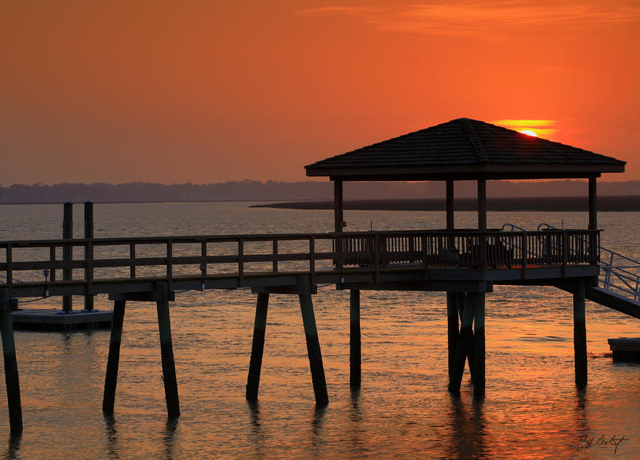 Beaufort County Photograph - Penetrating The Haze by Phill Doherty