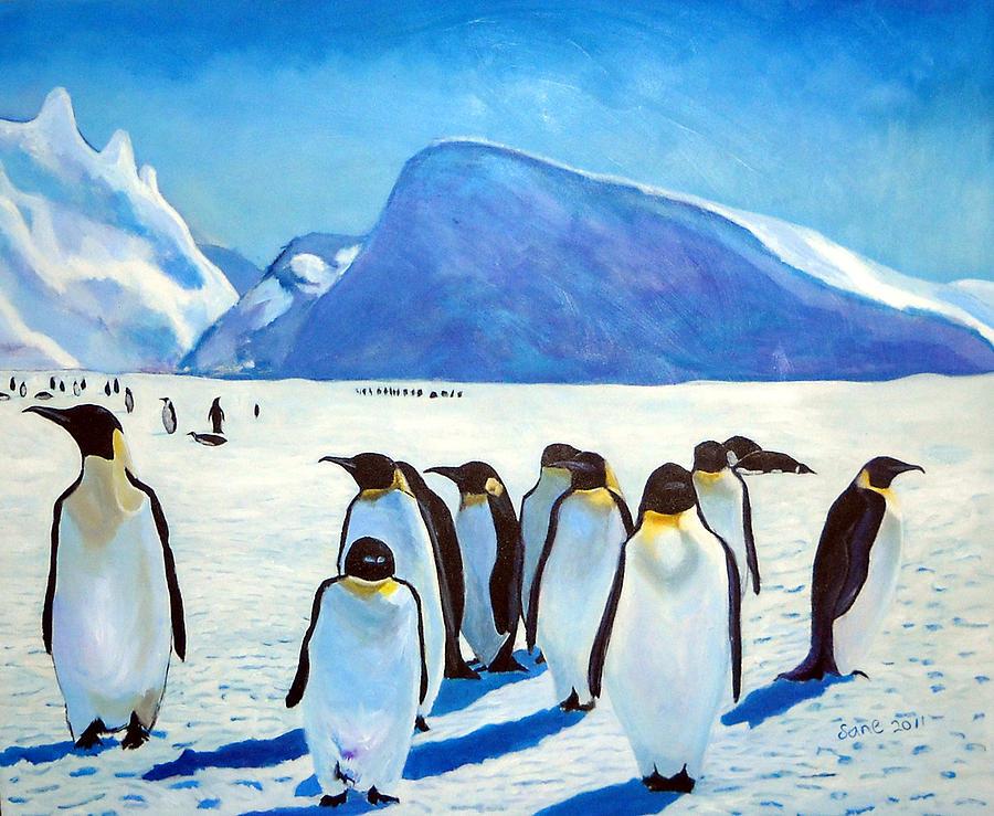 пингвины на картинах художников метис пользуется