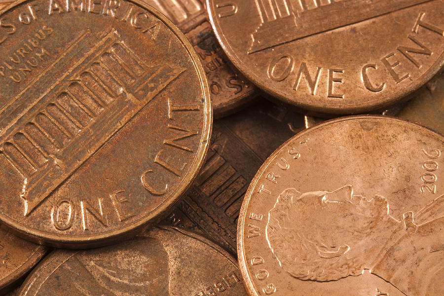 Pennies 4 Photograph