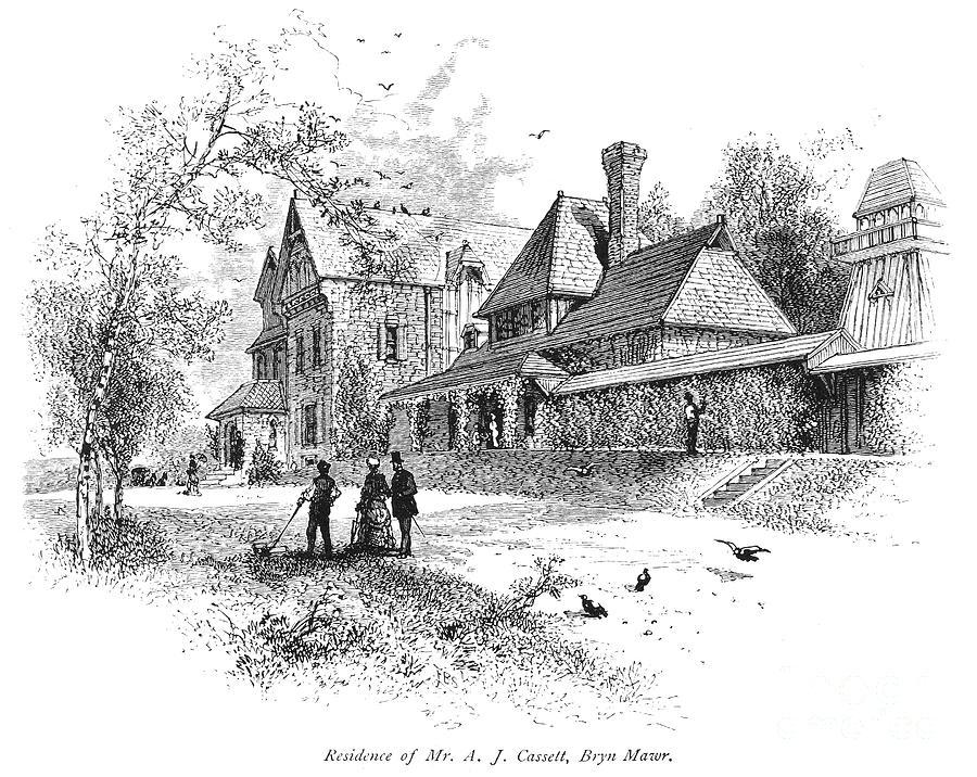 1876 Photograph - Pennsylvania: House, 1876 by Granger