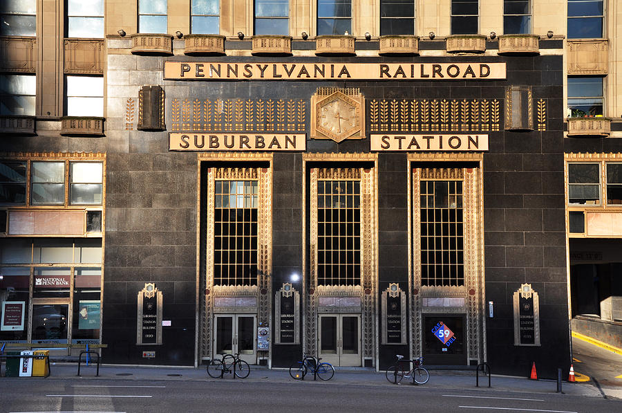 Pennsylvania Photograph - Pennsylvania Railroad Suburban Station by Bill Cannon