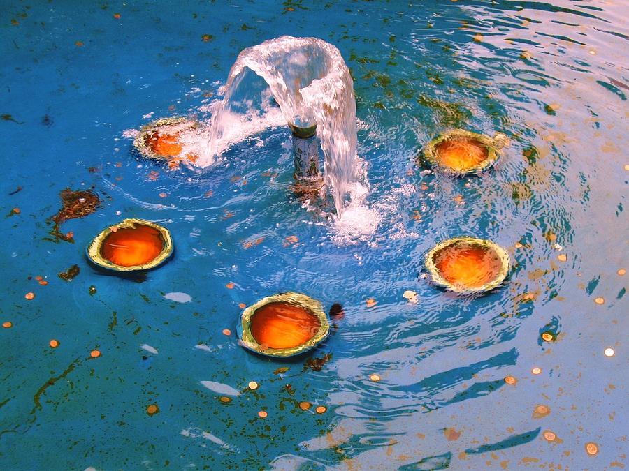 Fountain Photograph - Penny Fountain by Todd Sherlock