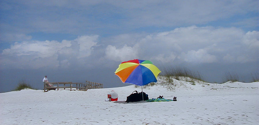 Florida Photograph - Pensacola Umbrella by Ed Golden