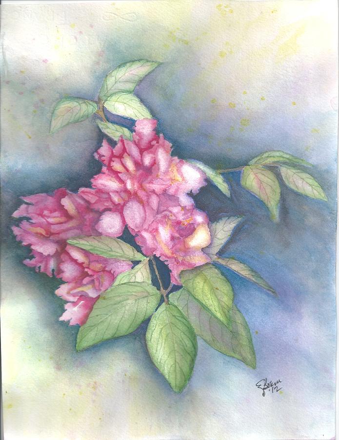 Peonies Painting - Peonies by Elise Boam
