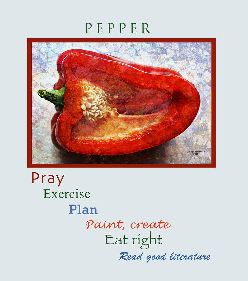 Pepper by Joselyn Holcombe