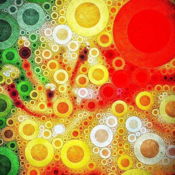 Color Photograph - #percolator #flower #abstract #color by Brandon Harris